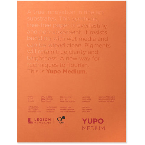 Yupo White Watercolour Paper Pads
