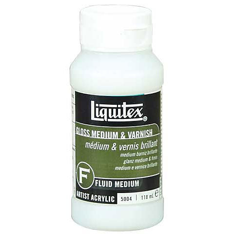 Liquitex Gloss Fluid Medium and Varnish