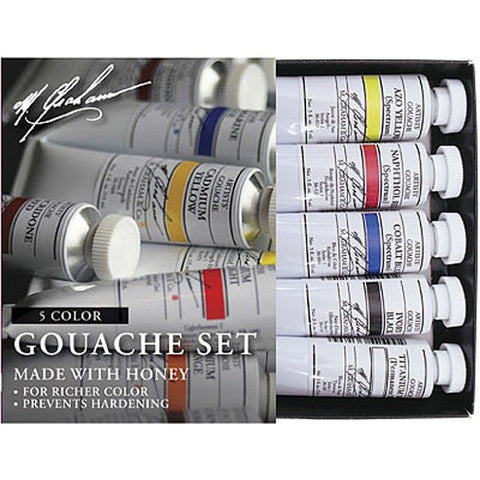 M.Graham Artist Gouache Set of 5