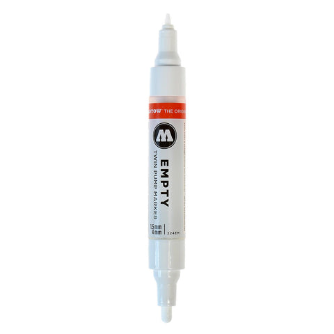 Molotow 1.5 mm/4 mm Empty ONE4ALL Twin Paint Marker