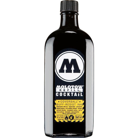 Molotow Black 250 ml Cocktail Covers All Ink