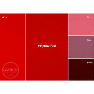 37ML / Napthol Red