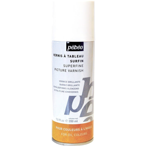 Pebeo Superfine Picture Varnish Spray