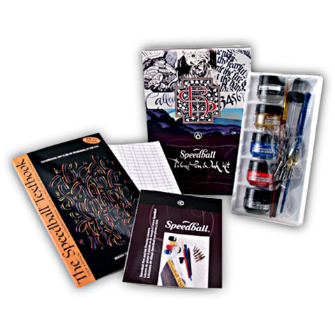 Speedball Deluxe Pen and Ink Set
