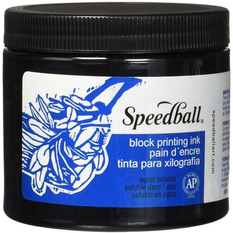 Speedball Watersoluble Block Printing Inks 16oz