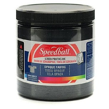 Speedball Opaque Fabric Screen Printing Ink 8oz