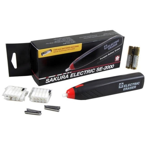 Sakura Battery Operated Electric Eraser