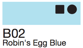 B02 Robins Egg Blue