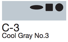 C3 Cool Gray No. 3