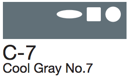 C7 Cool Gray No. 7