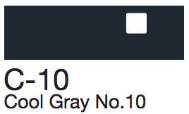 C10 Cool Gray No. 10
