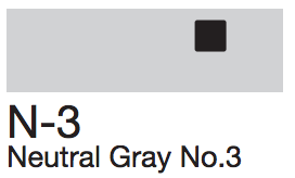 N3 Neutral Gray No. 3