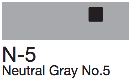 N5 Neutral Gray No. 5