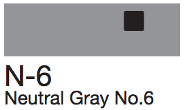 N6 Neutral Gray No. 6