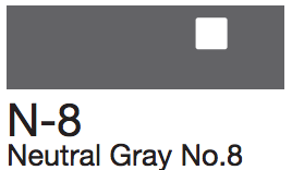 N8 Neutral Gray No. 8