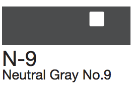 N9 Neutral Gray No. 9