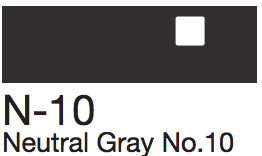N10 Neutral Gray No. 10