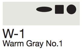W1 Warm Gray No. 1