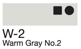 W2 Warm Gray No. 2
