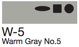 W5 Warm Gray No. 5