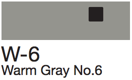 W6 Warm Gray No. 6