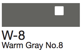 W8 Warm Gray No. 8