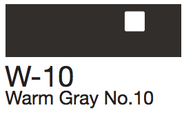 W10 Warm Gray No. 10