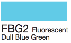FBG2 Fluorescent Dull Blue Green