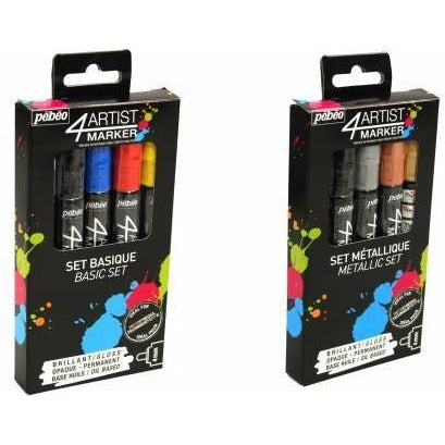 Pebeo 4Artist Oil Marker Sets of 5