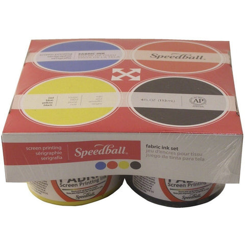 Speedball Fabric Screen Printing Starter Set #2