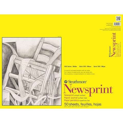 Strathmore 300 Series Newsprint Pads