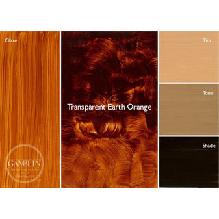 Transparent Earth Orange