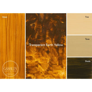 Transparent Earth Yellow