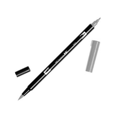 Tombow Dual Brush Pens Black, Gray, and Colourless