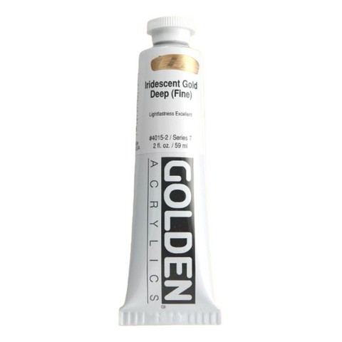 Golden Heavy Body Acrylics 60ml Iridescent Colours