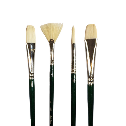 Art Pro Paint Brushes- Hog Bristle