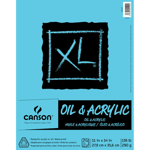 Canson XL Oil and Acrylic Pads