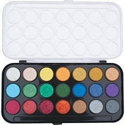 Yasutomo Niji Pearlescent Watercolour Pan Set