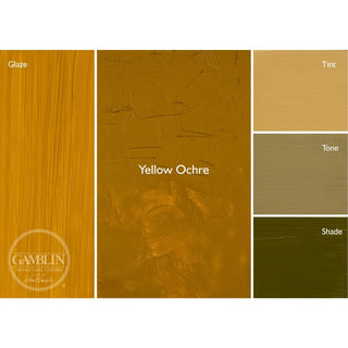 37ML / Yellow Ochre