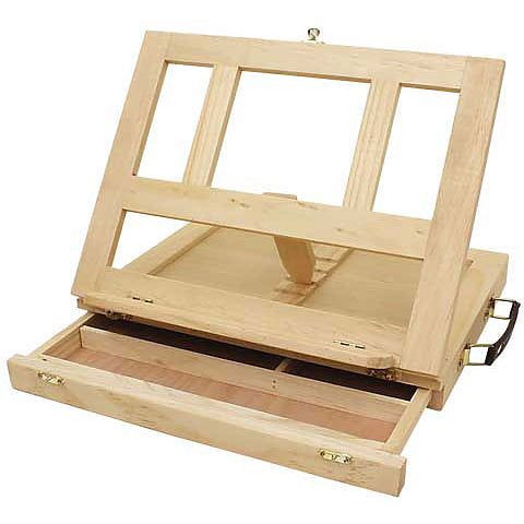 Art Alternatives Wood Art Box Easel
