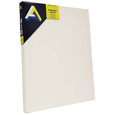 Art Alternatives Economy Cotton Stretched Canvas 2-Packs