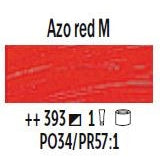 Azo Red Medium / 40ML