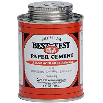 Best Test Premium White Rubber Paper Cement