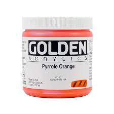 Golden Heavy Body Acrylics 8oz Jars