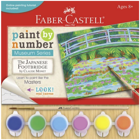 Faber-Castell Paint by Number Museum Series - The Japanese Footbridge