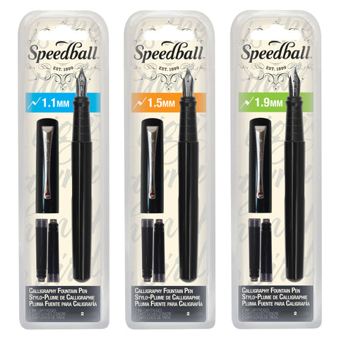 Speedball Calligraphy Fountain Pens
