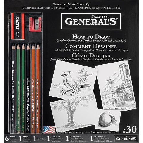 General's How to Draw Set