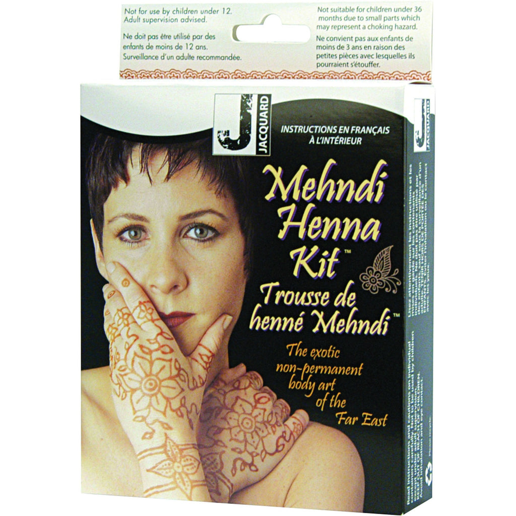 Jacquard Mehndi Henna Tattoo Kit Wallack S