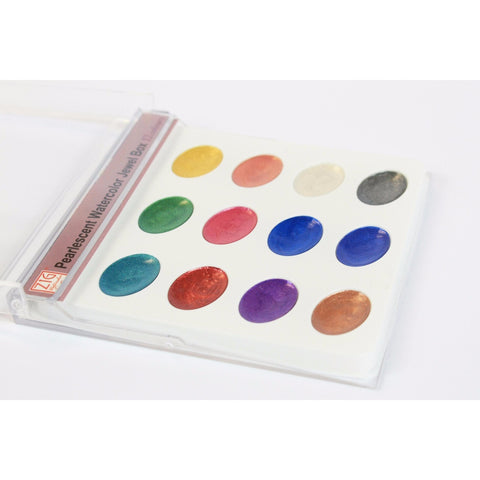 Kuretake ZIG Pearlescent Palette Watercolour Set