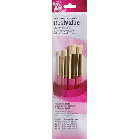 Princeton Real Value Brush Sets - Stencil Set